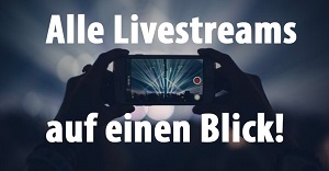Live Streams, Watch Partys und Webcasts