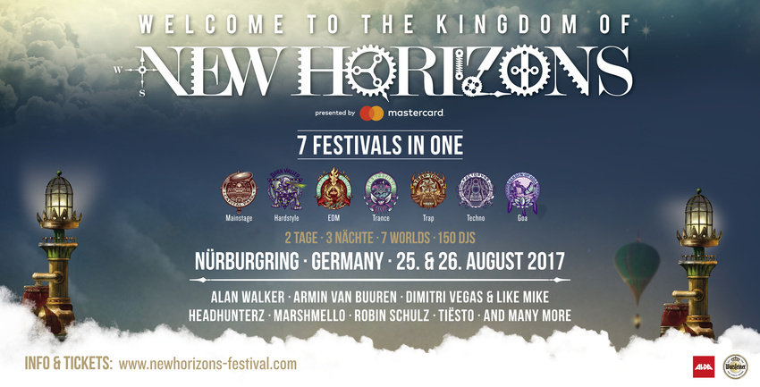 new horizons festival 2017 startet die party bereits am donnerstag. Black Bedroom Furniture Sets. Home Design Ideas