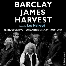 BARCLAY JAMES HARVEST feat. LES HOLROYD - Retrospective – 50th Anniversary Tour 2017